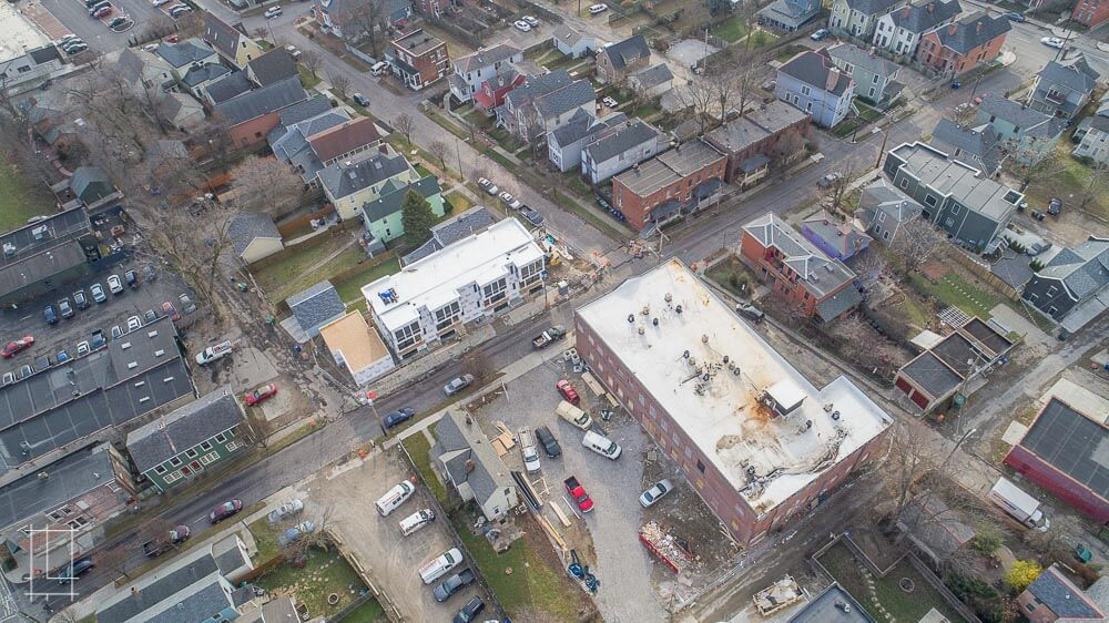 In May 2018,we will complete our revitalization of the historic EJ Thomas warehouse! A sister to the Wonder Bread Lofts, this Italian Village industrial site is another that we've converted into a collection of unique loft spaces and only our second renovation like this ever. Lykens Companies continues to spearhead the incredible transformation happening on the 4th Street Corridor. In 2018 alone, Lykens will introduce six projects to the Italian Village, adding to the exciting momentum started by great local businesses like Seventh Son Brewery, Fox in the Snow, The Market Italian Village, and more. The EJ Thomas Co.'s former warehouse sat empty for years before Lykens Companies gave it a full renovation, filling it with 20 1 bedroom, 1 bathroom luxury apartments. Located in Columbus, Ohio, Lykens Companies serves Columbus, Ohio's urban core with an eye toward historical preservation and restoration. We are deeply involved in the Short North, Victorian Village, Italian Village, Olde Towne East, and Weiland Park communities.